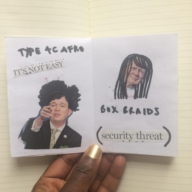 Afro Hair Zine 3